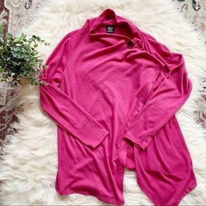 ❤️BOBEAU❤️Cardigan Drapey Cape Sweater